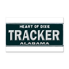 Alabama Tracker Rectangle Car Magnet