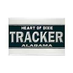 Alabama Tracker Rectangle Magnet (100 pack)