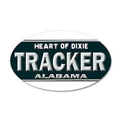 Alabama Tracker Wall Decal