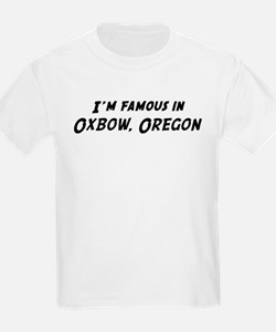 Famous in Oxbow Kids T-Shirt