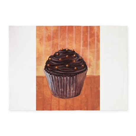 Chocolate Monster Cupcake - 5'x7'Area Rug