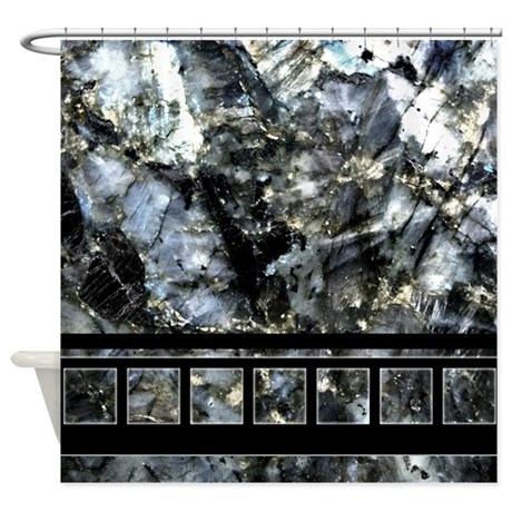 Shades Of Black White And Gray Shower Curtain By Twinschoice2006