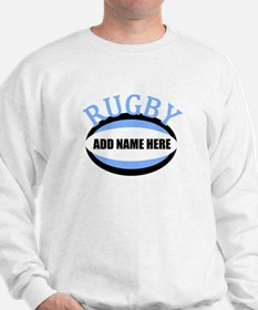 Rugby Add Name Light Blue Sweatshirt