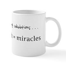 Formula for miracles - DARK TEXT Mug