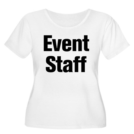 Event Staff Plus Size T-Shirt