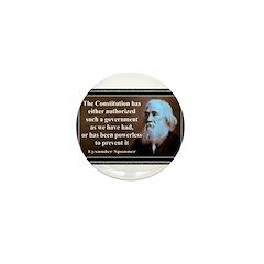 Lysander Spooner quote Mini Button