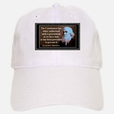 Lysander Spooner quote Baseball Baseball Cap