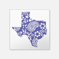 "Paisley Square Sticker 3"" x 3"""