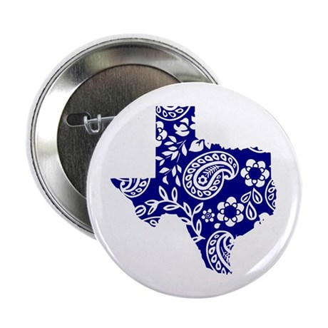 "Paisley 2.25"" Button (10 pack)"