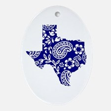 Paisley Ornament (Oval)