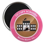 """Occupy Schools 2.25"""" Magnet (10 pack)"""