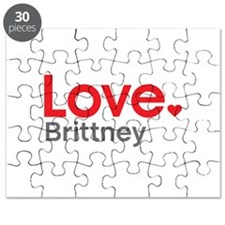 Love Brittney Puzzle