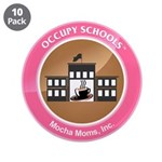 """Occupy Schools 3.5"""" Button (10 pack)"""