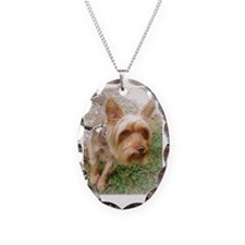 Silkie Terrier 3 Necklace