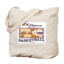 The Science Of Basketball Tote Bag