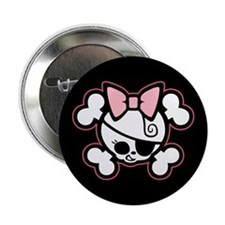 "Dolly Bow II 2.25"" Button"