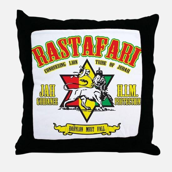Rastafari Throw Pillow