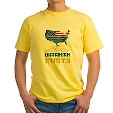 American Ukrainian Roots T-Shirt