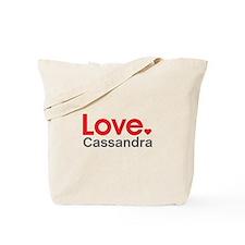 Love Cassandra Tote Bag