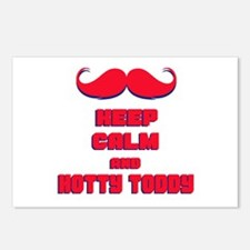 Keep Calm and Hotty Toddy Postcards (Package of 8)