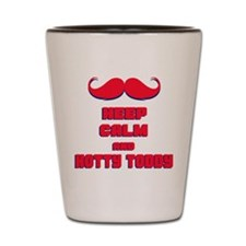 Keep Calm and Hotty Toddy Shot Glass