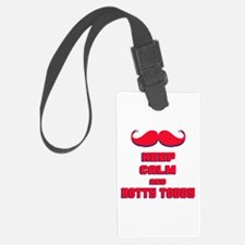 Keep Calm and Hotty Toddy Luggage Tag