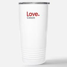 Love Cassie Travel Mug