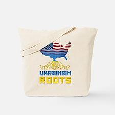 American Ukrainian Roots Tote Bag