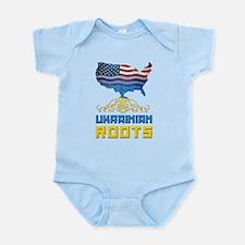 American Ukrainian Roots Body Suit