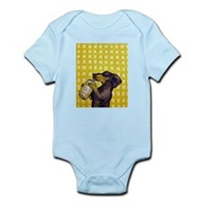 Dachshund Drinking Water Body Suit