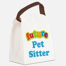 Future Pet Sitter Canvas Lunch Bag