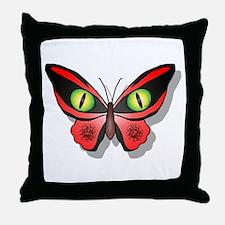 Reptile Eyes Throw Pillow