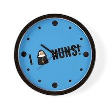 I Love Nuns Wall Clock