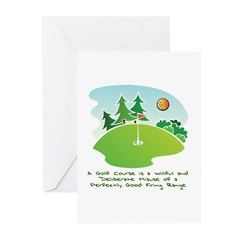 The Golf Course Greeting Cards (Pk of 20)