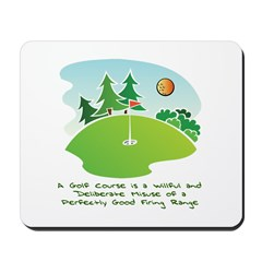 The Golf Course Mousepad