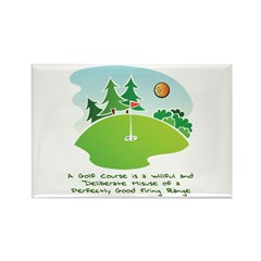 The Golf Course Rectangle Magnet (10 pack)