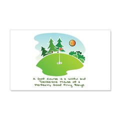 The Golf Course Wall Decal