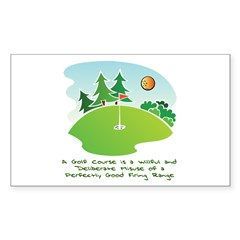 The Golf Course Decal