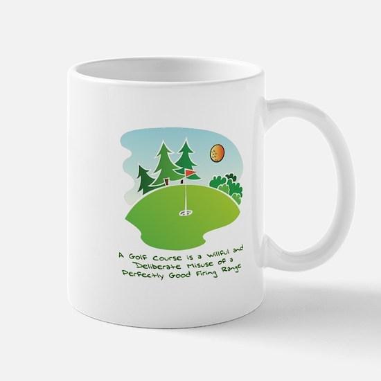 The Golf Course Mug