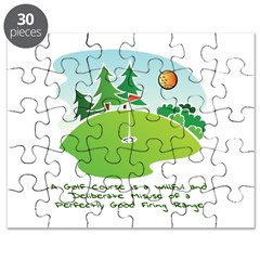 The Golf Course Puzzle