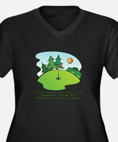 The Golf Course Plus Size T-Shirt