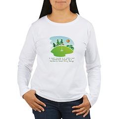 The Golf Course Long Sleeve T-Shirt