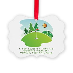 The Golf Course Ornament