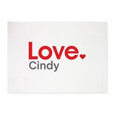 Love Cindy 5'x7'Area Rug
