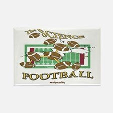 Science Of Football Rectangle Magnet