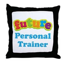 Future Personal Trainer Throw Pillow