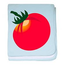 Ripe Tomato baby blanket