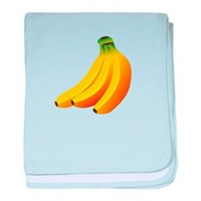 Banana Bunch baby blanket