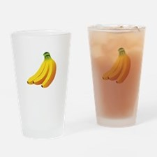 Banana Bunch Drinking Glass