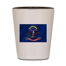 North Dakota State Flag Shot Glass